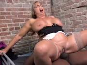 Preview of a MILF PAWG's IR sex with a BBC scene