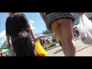 Upskirt - very short skirt