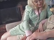 Nina Hartley in action