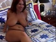 Super sexy chubby redhead is a very hot fuck