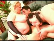 Hot Threesome with 2 Horny Fat BBW friends from the bar-1
