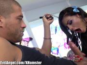 EvilAngel Adriana Chechik Anal Rides and Throats