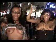 black girls exposed in public