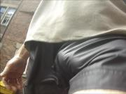 38 SHINY NYLON SHORTS COMMANDO CITY CENTRE BULGE
