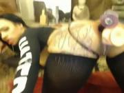 Nice Tatooed Girl WebCam Fisted all Holes 2