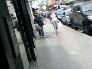 Linda pendex en la calle
