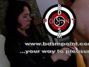 Humiliating punishment for Mistress Wanda's slave