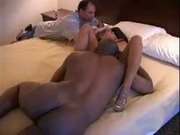 Cuck Hubby Likes To Play With The Cum