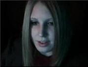 Pretty teen girl chatting and masturbating