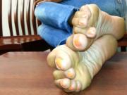 Ebony sexy soles