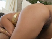 Thick lipped latina nailed in the ass