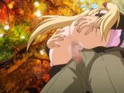 Blonde cutie anime gets pounded