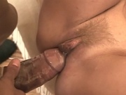 Big breasted mom rammed by huge cock