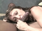 Mature wife gets fucked by black cock