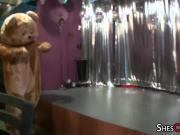 Dancing Bear Male Strippers At Blowjob Party