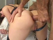 Babe gets ass fucked and humiliated