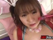 Japanese Pussy Being Toyed With
