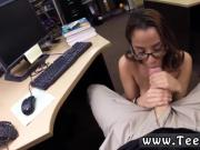 Lesbian asian brunett rubbing College Student Banged in my pawn shop!
