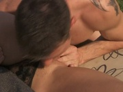 Fine white chick gets all holes penetrated