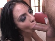 Pretty chick gets brutally fucked