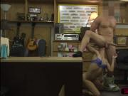 White and amateur chick gets fucked by Shawns cock in his office