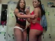 Ebony Strippers shake ass on Webcam - more videos on dslwebcam.com