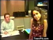 Teen Slut Fucking In The Office