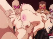 Hentai girl fucked by shemale
