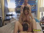 Two Hot Babes Fucked by Boyfriends