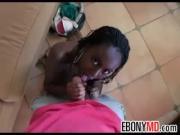 Black Girl Loves White Cock POV