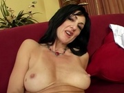 Mature woman banging younger cock