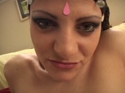 Indian babe banging a white guy