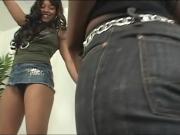 Black lesbians insertions
