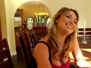 Busty pornstar Maya Hills drools on BBC