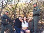 Latina border jumper Abella dicked down
