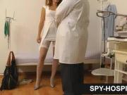 Breasts check-up caught on doctor hidden cam