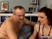Hairy GILF Pounded In The Ass