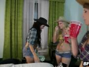 Sexy country girls fuck random guys in hotel