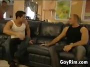 Gay Hardcore Threesome