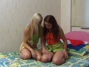 Amateur teens starting to get horny