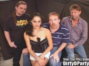 Thin Party Girl Slut Fucked Sperm Shot!