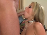 Gorgeous wife gets ass hammered