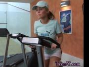 Sascha ass-fuck plumbed by fitness instructor