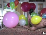 Teen With A Fetish For Balloons