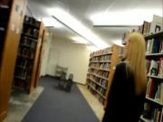 Public library suck and fuck