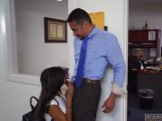 Old man eats teen ass and intense blowjob Bring Your Daughter to Work