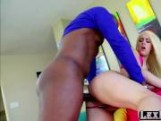 Long haired blonde Brooke Summers gets fucked by Lexington Steele