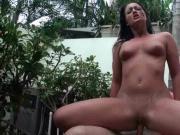 Orgy sluts humping man sticks at the pool