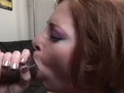 Brunette wife penetrated by big black cock