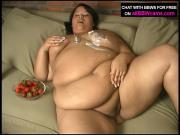 BBW Brunette Chick Relishes In Private Session